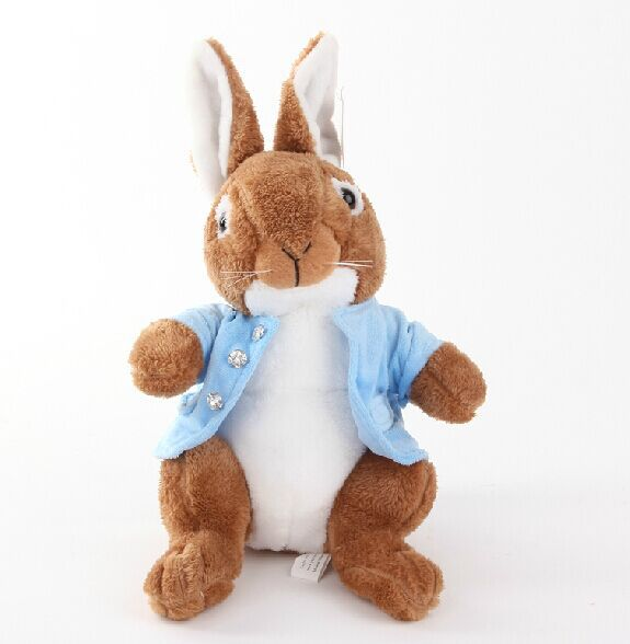 40cm Peter rabbit plush toy, easter bunny, rabbit stuffed animal doll, lovely rabbit pillow doll for girlfriend gift(China (Mainland))