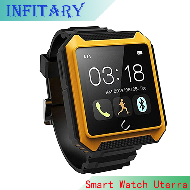2016 New IP68 Waterproof Bluetooth Watch Uterra Smart Watch Android <font><b>Smartwatch</b></font> U watch for <font><b>Samsung</b></font> <font><b>gear</b></font> <font><b>2</b></font> Huawei HTC Smartphones