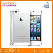 """Оригинальные Apple , завод разблокировка iPhone 5 16 ГБ / 32 ГБ / 64 ГБ двухъядерный 1 ГГц 3 г WIFI GPS 8MP 1080 P 4.0 """" IPS мобильный телефон в наличии(China (Mainland))"""