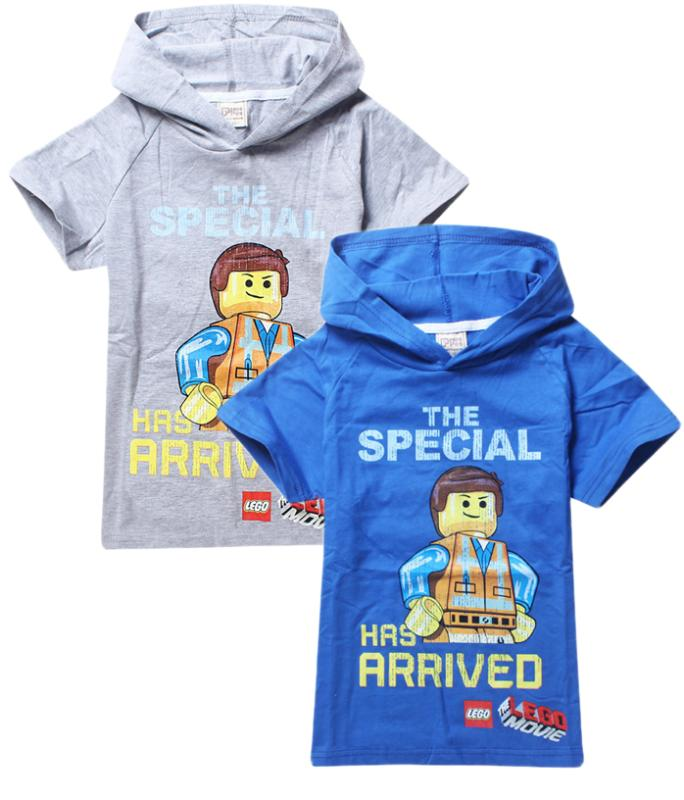 2015 New Arrive Lego Children's Spring Summer Clothing Boys T-Shirt Clothes Short Sleeve T shirt Tee Free Shipping(China (Mainland))