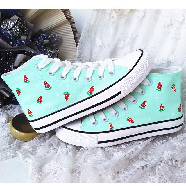 new fashionhand paint fruit watermelon graphics for