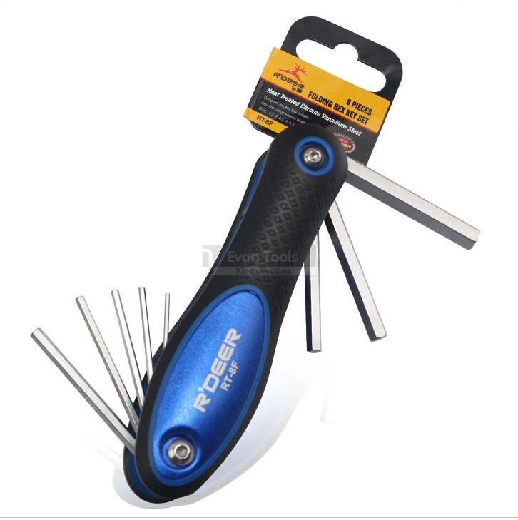 8 pcs folding hexagonal spanner set crv 1.5 2 2.5 3 4 5 6 8mm spanner wrench set hand tools ferramentas
