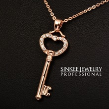 popular key necklace pendant