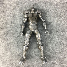 Original Marvel Legends Blackhawk Arthur Douglas Corpo Articulações Boneca Action Figure Toy Collectible Modelo Nenhum Caixa NENHUM Cabeça(China)