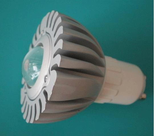 GU10 1*1W led spot light with 85 to 265V AC Input;80lm,large stock;please advise the color you need;P/N:XL-SPGU10WW1PAC-1A