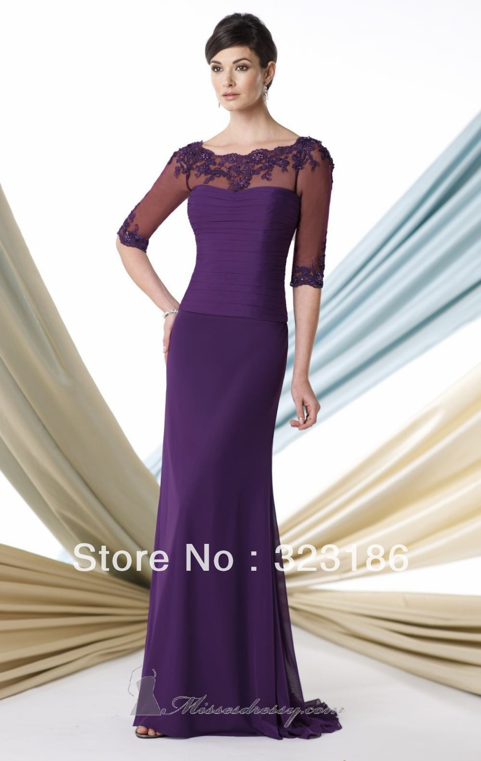 Custom in style cheap modest mother of the bride dresses for Cheap but beautiful wedding dresses