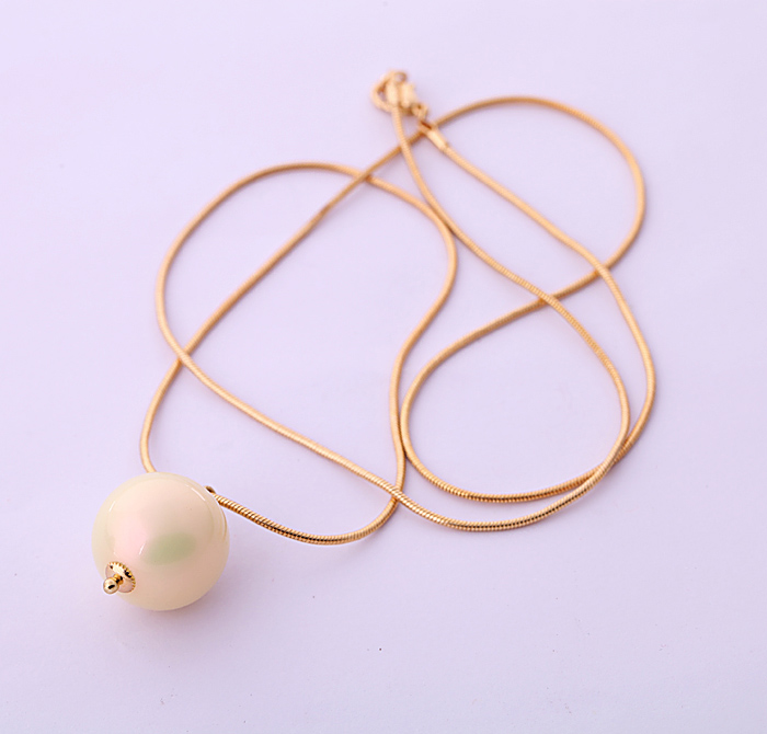 Fashion accessories Women simulated pearl chain necklace long design necklace Factory Wholesale(China (Mainland))
