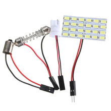 Buy Best Price T10 24 LED 5730 SMD Light Panel Board Pure White Car Auto Interior Reading Map BA9S Festoon Dome Lamp Bulb DC12V for $1.17 in AliExpress store