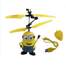 Helicopter Children's Toys Resistance To Impact Cartoon Remote Control Plane Charging Electric Toys Sell Like Hot Cakes Favorite(China (Mainland))