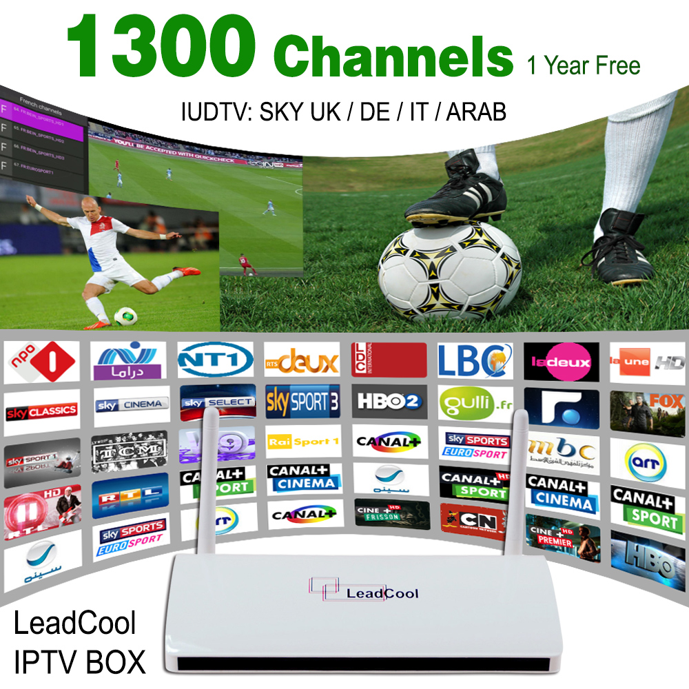 Quad Core Android Italy&UK&Germany Sky IPTV Box 1300 Live TV Hot Channels Full 1080 HD Set Top Box Sport Max1 Max2 Premium Ligtv(China (Mainland))
