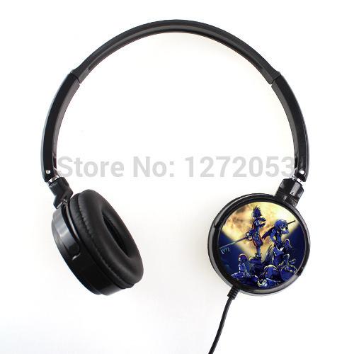 New Custom Kingdom Hearts Earphone Headphone with Lightweight Design Comfort Soft Ear Cushions U3745985(China (Mainland))
