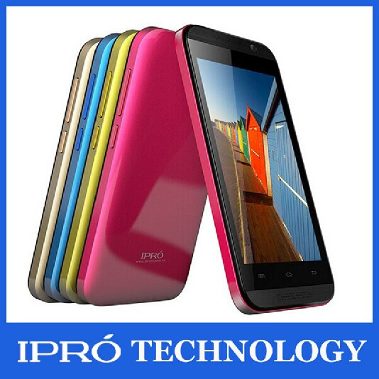 New 2015 Original Ipro MTK6572 Smartphone 4.0 Inch 2G/3G Dual Core celular android Mobile Phone Unlocked Russian Free shipping(China (Mainland))