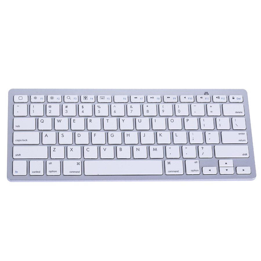 Ultra Slim Bluetooth 3.0 Wireless Keyboard Original 2.4GHz Keyboards for Apple iPad Windows/Android/IOS(China (Mainland))