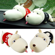 Unusual Cute Cartoon Dog Bamboo Charcoal Bag Car Deodorant Air Purifying Useful Decor  91HC(China (Mainland))