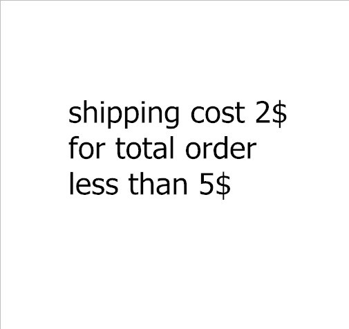 Shipping cost 2USD total order less 5USD - The Electronics Club store