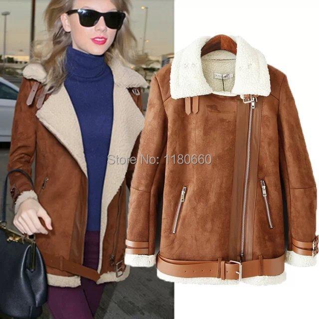 Womens Brown Coat