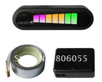 led Electromagnetic parking sensor no holes need to be drilled,reverse backup assistance