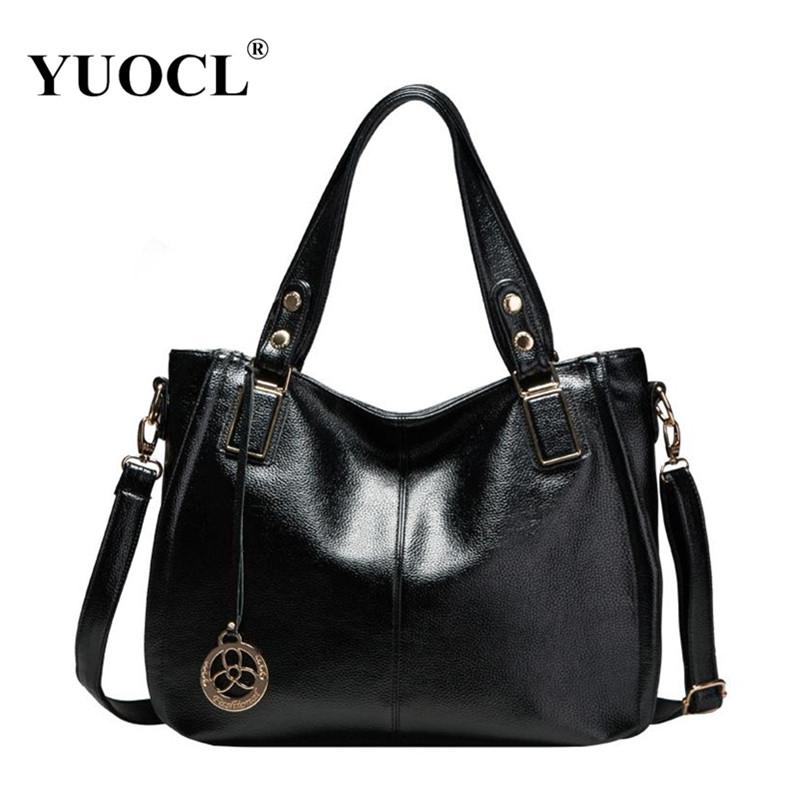 YUOCL 2016 Hot sale fashion luxury handbags women large capacity casual bag ladies pu leather office tote bags bolsos feminina(China (Mainland))