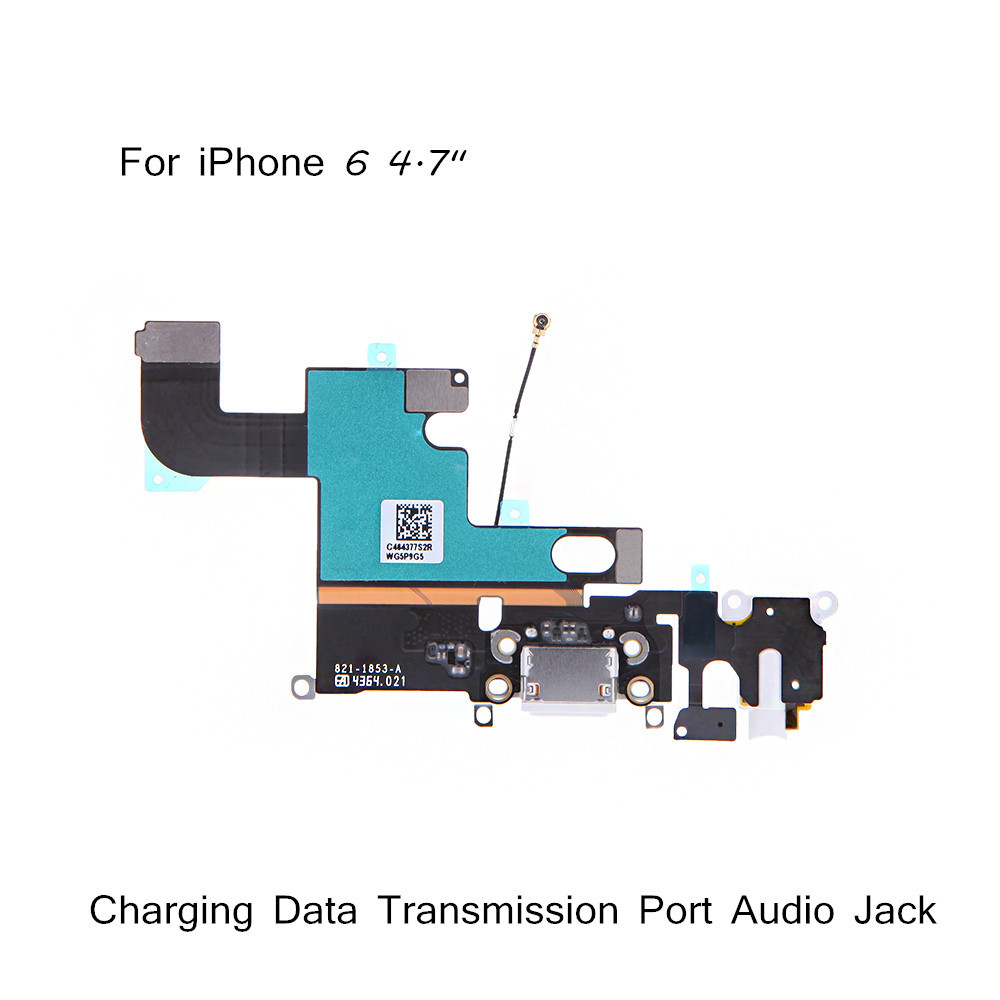 "Mobile Phone Flex Cables for iPhone 6 4.7""Mobile Phone Charging Data Transmission Port Audio Jack(China (Mainland))"