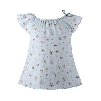 Hot Sale Girls Dress 2015 Summer Style New Children Dresses Floral Print Baby Dress Kids Princess Dress Vestidos Girls Costumes