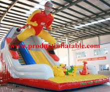 Cheap Commercial Quality Inflatable Slide ,Inflatable Jumping Slide,Inflatable Bouncer Slide(China (Mainland))