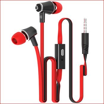 Наушники наушники с микрофоном 3,5 мм стерео бас 10 цветов для мобильный телефон MP3 MP4