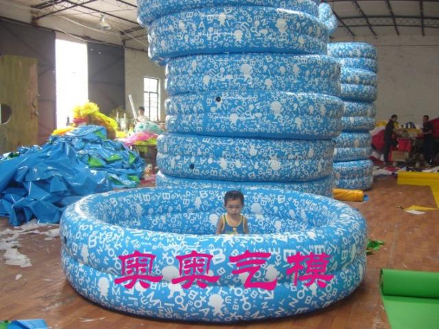Inflatable swimming pool inflatable pool water park for children to move large swimming pool(China (Mainland))