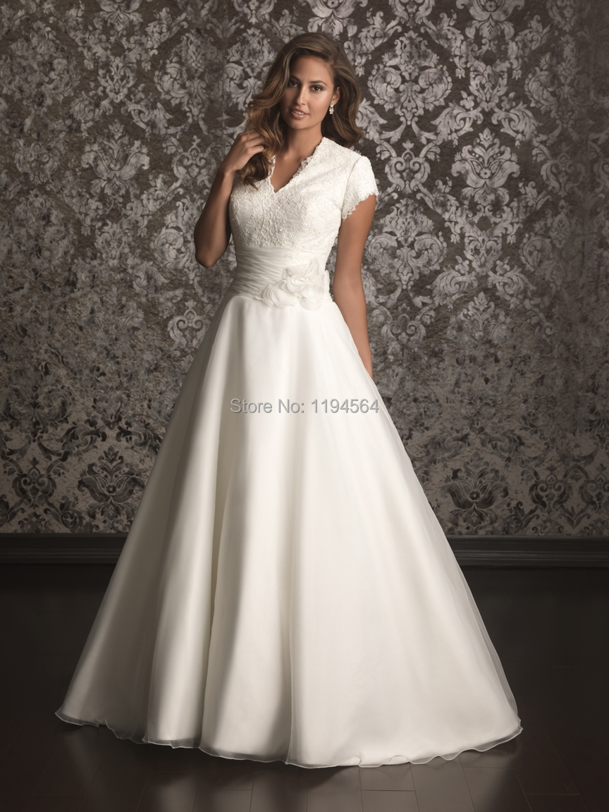 modest high back wedding dresses 2015 top lace bridal
