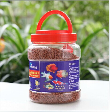 teedel map blood parrot fish feed fish food Lohan rich fish food reddening tropical fish feed pellets(China (Mainland))