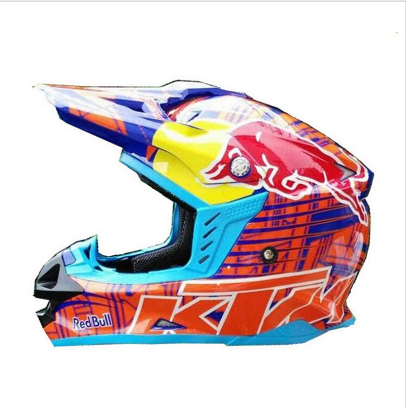 Ktm Red Bull Motocross Helmet