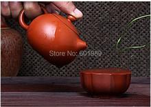 2Pcs Drinkware Coffee Tea Pots New Purple Teapot Tea Service Tea Cup Kung Fu Tea Pot