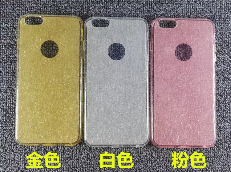 5S Cover For apple iphone 6 6S/6 6s plus Soft Silicon Transparent Ultra thin TPU DiamondMax bling phone case With dust plug(China (Mainland))