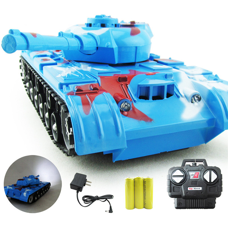 1:22 Classic R/C Radio Remote Control RC Fighting Battle Tank Model For Children Gifts Free Shipping(China (Mainland))