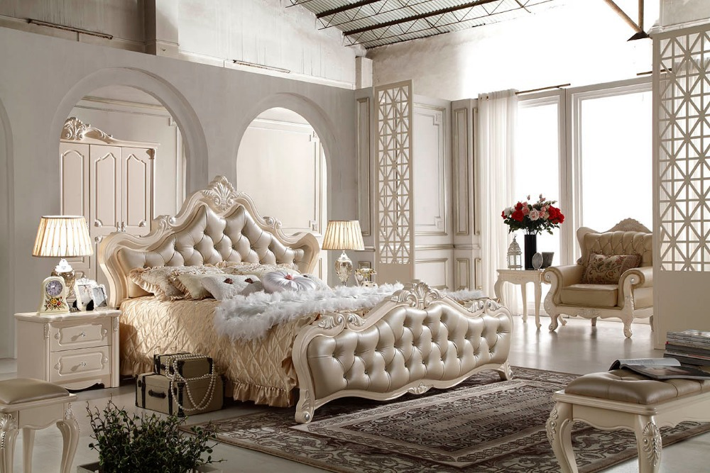 F81102 French Style Bed Modern Bedroom Furniture Bed China Mainland