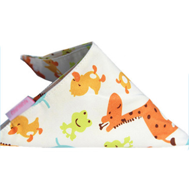 Baby Lovely Snaps Bibs Saliva Towel Toddler Bandana Triangle Head Scarf 111(China (Mainland))