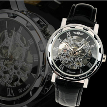 Splendid New Luminous Men Watch Skeleton Military Watches Mechanical Relogio Male Montre Watches Men  2016 Luxury Free Shipping