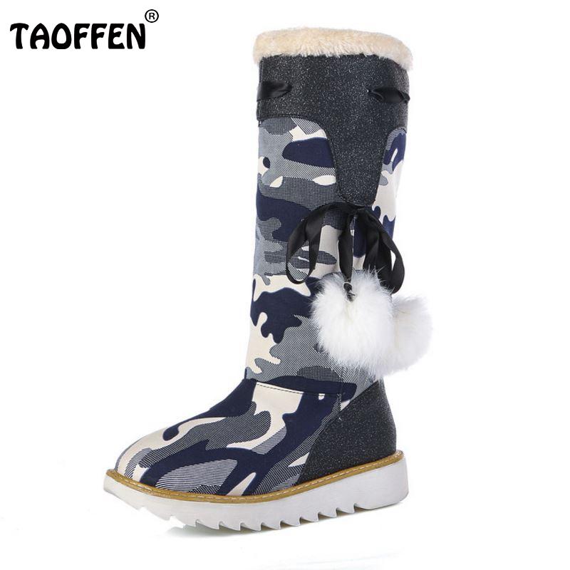 Size 32-43 Gladiator Snow Boots Women Flats Half Short Boot Ladies Warm Plush Winter Mid Calf Boots Footwear Shoes Woman