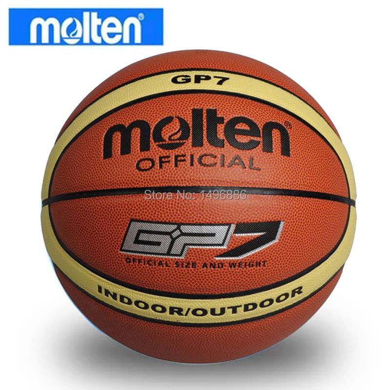 2015Brand Free Shipping Size7 Molten GP7 Basketball Hight Quality PU Leather Basketball Ball With Free Gift Of ball net bag+pins(China (Mainland))