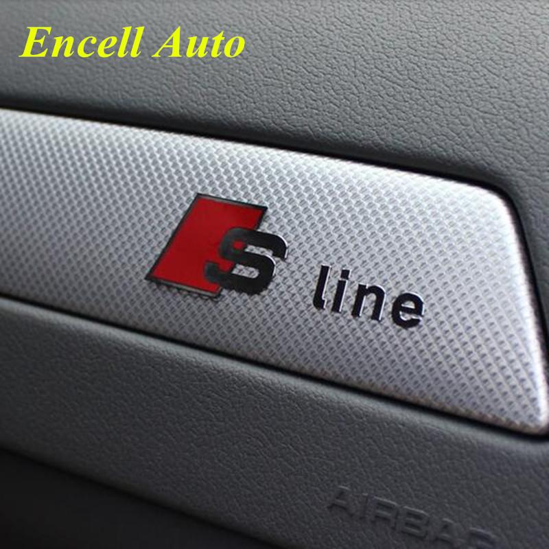 buy otokit s sline car control panel decoration interior sticker audi a3 a4 a5 a6 a7 a8 a4l q5. Black Bedroom Furniture Sets. Home Design Ideas