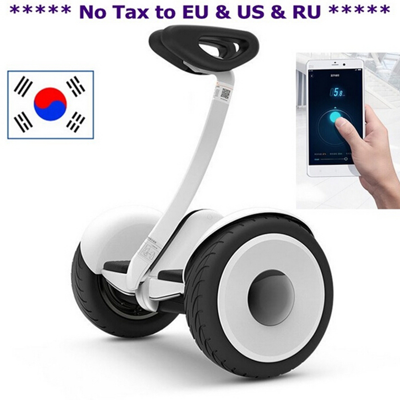 Original xiaomi mini bot self balance smart scooter electric 2 wheel hoverboard skateboard unicycle 10 inch UL hoover board(China (Mainland))