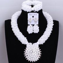 Dudo bijoux parure de bijoux Orange nigérian perles de mariée ensembles de bijoux de mariage une couche Dubai bijoux boules d'or 2018 nouveau(China)