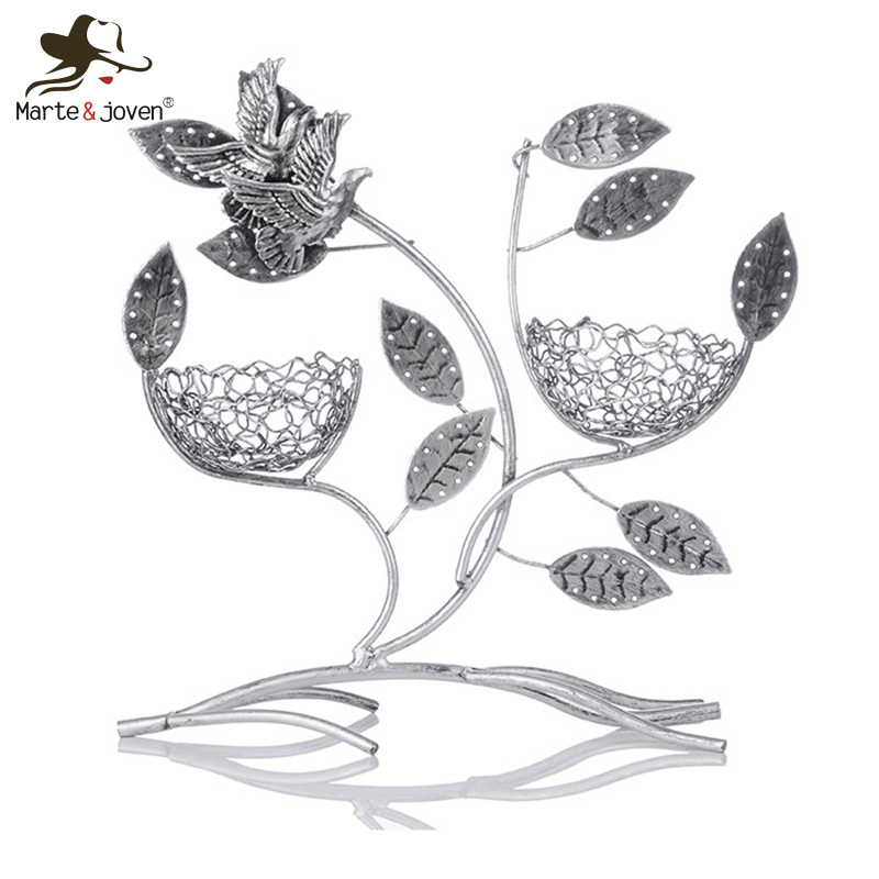 Fashion Retro Flying Bird Antique Silver Jewelry Holder Necklace Earrings Organizer Cute Earrings Rack Jewelry Display Frame(China (Mainland))