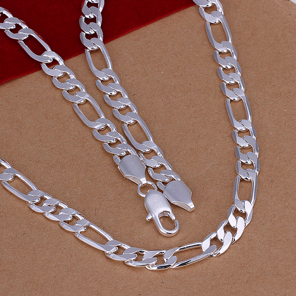 2016 new explosion models 8M flat three men a necklace -20- boys like a necklace of jewels G&G-263(China (Mainland))