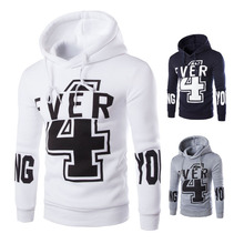 Free shipping sports wear 2016 new arrival foreign trade explosion models sweatshirts fashion printed letters hoodies tide shirt(China (Mainland))