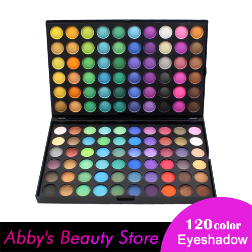 120 Color Fashion Eye shadow palette Cosmetics Mineral Make Up Makeup Eye Shadow Palette eyeshadow set for women(China (Mainland))