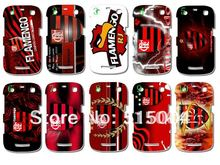 HOT!new design football club Flamengo case hard back cover for blackberry S9360 14pcs/lot free shipping(China (Mainland))