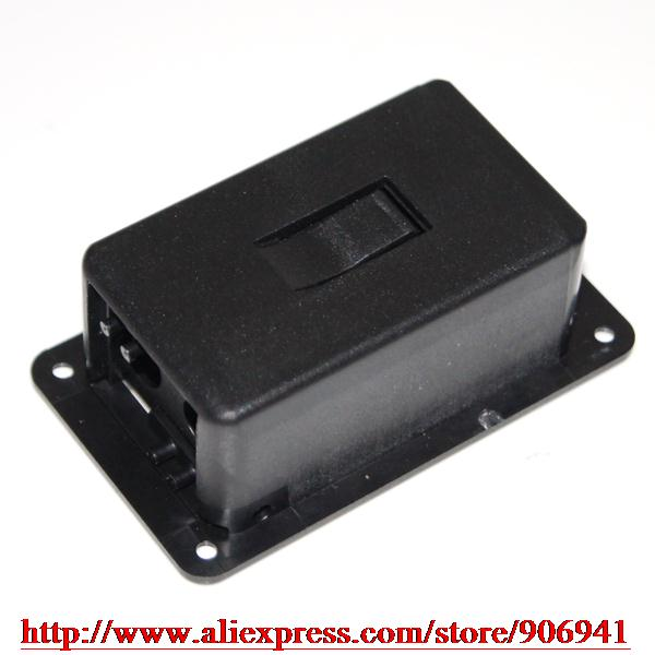 5pcs CHEAP Quality 9V Battery Box/Case/holder for Active Guitar/Bass Pickup(China (Mainland))