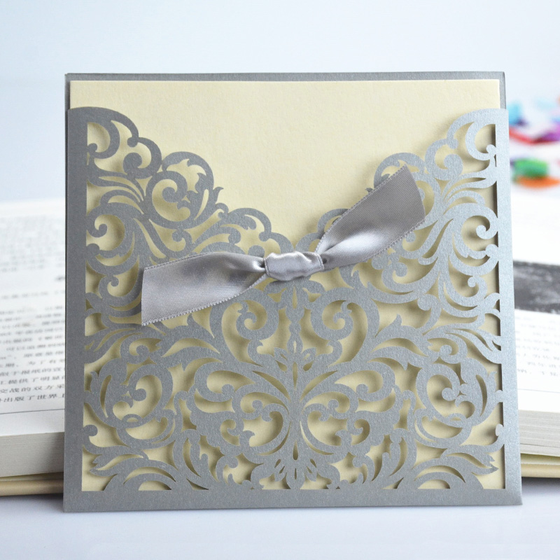Cheap Invitation Wedding Card Buy Quality Black Directly From China Cards To Print Suppliers Mix Size Tissue Paper Flowers