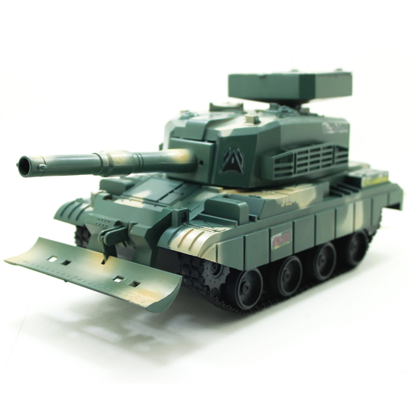 Drop Shipping Model 3883 RC Tank Radio Remote Control Battle Fighting Shoot Bullets Tank Army Green / Desert Yellow(China (Mainland))