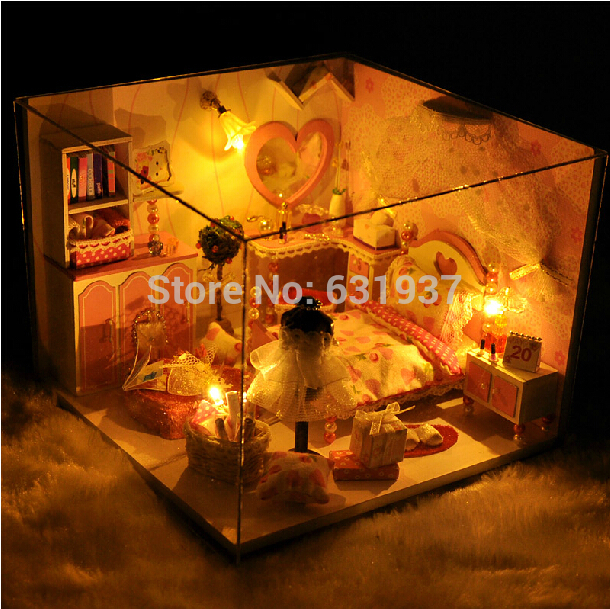 Кукольный дом A Diy 3D N-851 пазл n 3d diy zh007